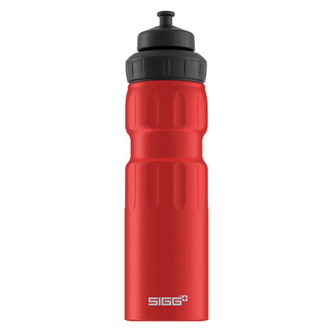Бутылка для воды Sigg WMB Sports, красная, 0,75L