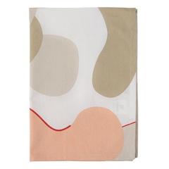 Полотенце кухонное бежевого цвета с авторским принтом из коллекции Freak Fruit, 50х70 см Tkano TK20-TT0005
