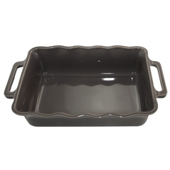 Форма прямоугольная 37,5 см Appolia Delices DARK GREY 141037544