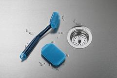 Набор из 2 щеток для мытья посуды CleanTech синий Joseph Joseph 85159