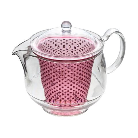 Термостоикий чайник с заварником 0,73л Akebono TW-3734*