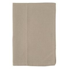 Полотенце кухонное вафельное бежевого цвета из коллекции Essential, 50х70 см Tkano TK20-TT0003
