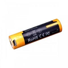Аккумулятор 18650 Fenix ARB-L18 2600U mAh с разъемом для USB* ARB-L18-2600U
