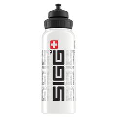 Бутылка для воды Sigg WMB Gnature, белая, 1L 8626.20