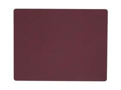 Подстановочная салфетка прямоугольная 35x45 см, толщина 1,6 мм Nupo plum LindDNA-981048