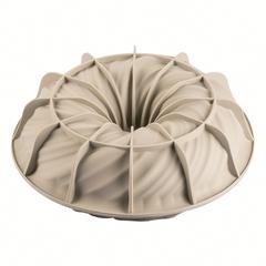Форма для приготовления пирогов и кексов Intreccio 21 х 7 см силиконовая Silikomart 20.384.13.0065