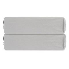 Простыня на резинке серого цвета из органического стираного хлопка из коллекции Essential, 160х200 см Tkano TK20-FSI0002