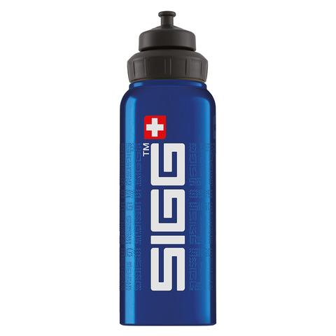 Бутылка для воды Sigg WMB Gnature, голубая, 1L