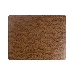Подстановочная салфетка прямоугольная 35х45 см, толщина 1,6мм Lace brown LindDNA-98898