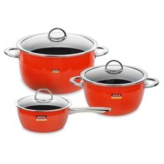 Набор посуды из 3 предметов KOCHSTAR NEO арт. ORANGE-1