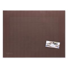 Салфетка подстановочная, 42х32 см, цвет каштановый Westmark Saleen арт. 012102 601 01