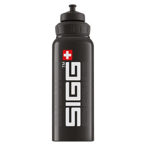 Бутылка для воды Sigg WMB Gnature, черная, 1L