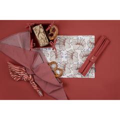 Полотенце кухонное вафельное терракотового цвета из коллекции Essential, 50х70 см Tkano TK20-TT0001