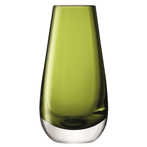 Ваза в форме бутона Flower Colour 14 см зелёная LSA International G732-14-414