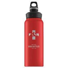 Бутылка для воды Sigg WMB Mountain, красная, 1L 8744.90