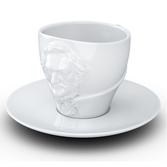 Чайная пара Tassen Talent Richard Wagner, 260 мл, белая T80.03.01