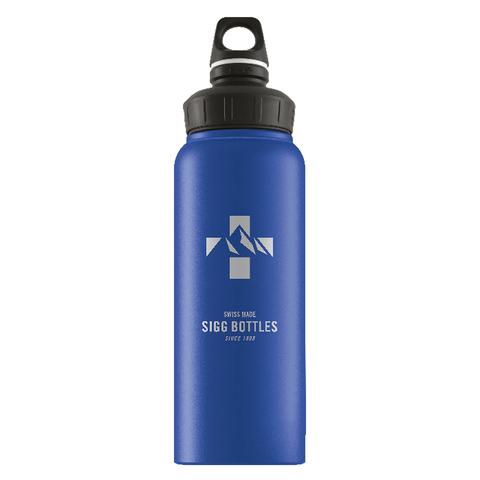 Бутылка для воды Sigg WMB Mountain, голубая, 1L