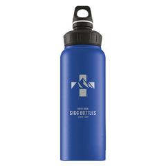 Бутылка для воды Sigg WMB Mountain, голубая, 1L 8745.00