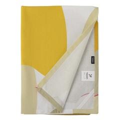 Полотенце кухонное горчичного цвета с авторским принтом из коллекции Freak Fruit, 50х70 см Tkano TK20-TT0006