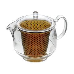 Термостоикий чайник с заварником 0,73л Akebono TW-3736