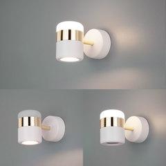 Настенный светодиодный светильник Eurosvet Oskar 20165/1 LED золото/белый