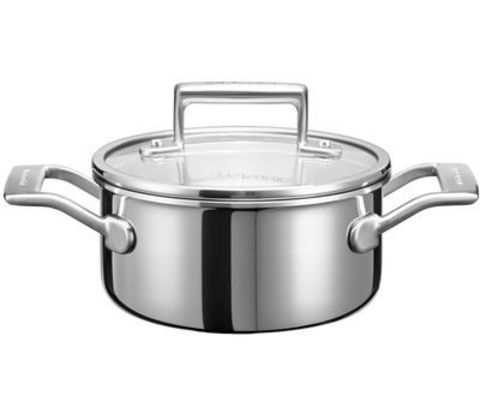 Кастрюля для соуса 16см (1,4л) KitchenAid KC2T15EHST
