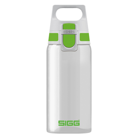 Бутылка для воды Sigg Total Clear One, бело-зеленая, 0,5L