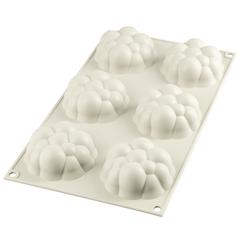 Форма для приготовления пирожных Bollicine силиконовая Silikomart 26.270.13.0065