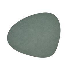 Подстановочная салфетка фигурная 37х44 см, толщина 1,6мм Hippo pastel green LindDNA-981130