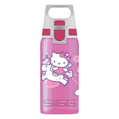 Бутылка для воды Sigg Viva One Hello Kitty, розовая, 0,5L