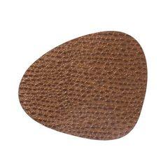Подстановочная салфетка фигурная 37х44 см, толщина 1,6мм Lace brown LindDNA-98879