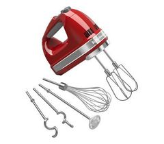 Ручной миксер KitchenAid (Красный) 5KHM9212EER