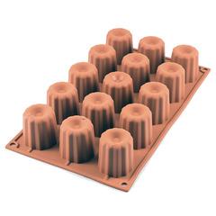 Форма для приготовления пирожных Bordelais силиконовая Silikomart 20.033.00.0060