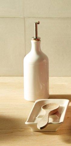 Бутылка для масла и уксуса 0,45л Emile Henry (цвет: крем) 020215