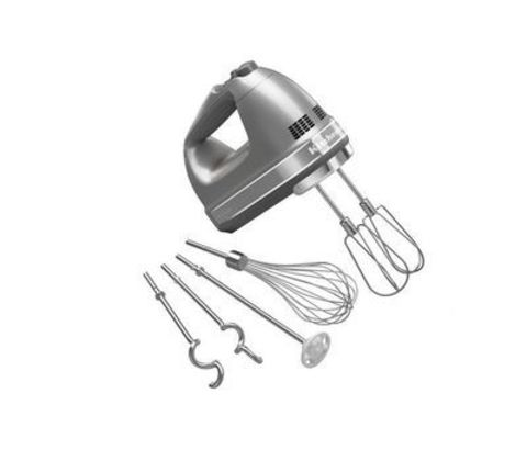 Ручной миксер KitchenAid (Серебряный) 5KHM9212ECU
