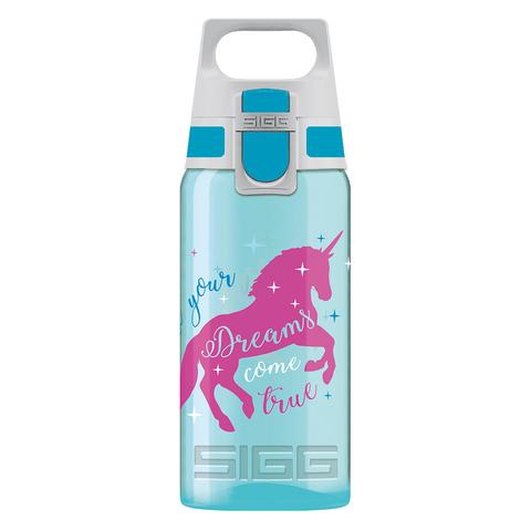 Бутылка для воды Sigg Viva One Unicorn, бирюзовая, 0,5L