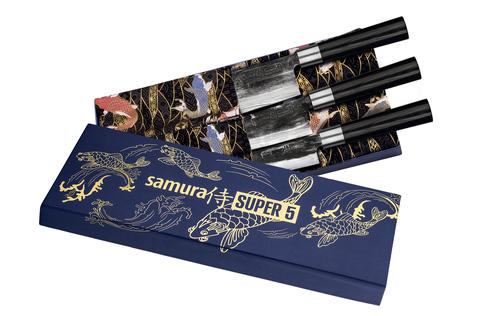 Набор из 3 кухонных ножей Samura SUPER 5 SP5-0220/K