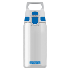 Бутылка для воды Sigg Total Clear One, бело-голубая, 0,5L 8693.00