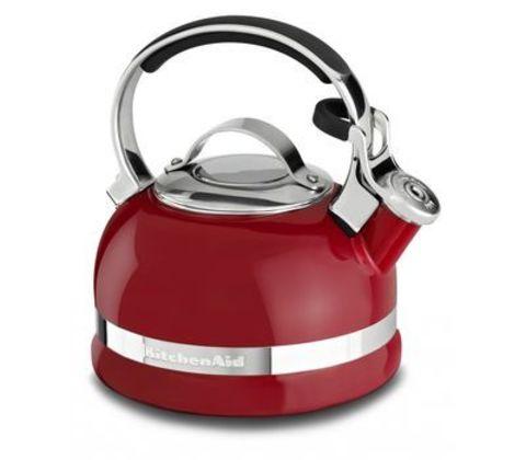 Чайник со свистком 1,9л KitchenAid (Красный) KTEN20SBER
