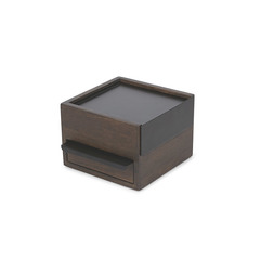 Шкатулка для украшений Stowit Mini чёрная Umbra 1005314-048