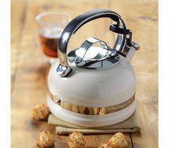 Чайник со свистком 1,9л KitchenAid (Кремовый) KTEN20SBAC