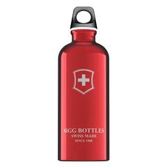 Бутылка для воды Sigg Swiss Emblem, красная, 0,6L 8319.20-V