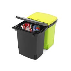 Ведро для мусора двухсекционное (2х10л) встраиваемое Brabantia 482205