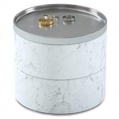 Шкатулка для украшений Tesora белая Umbra 299470-491