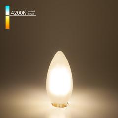 Светодиодная лампа Свеча BL113 7W 4200K E14 белый матовый Elektrostandard