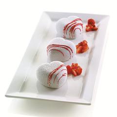 Форма для приготовления пирожных Cuoricino 20,5 х 19,8 см силиконовая Silikomart 26.186.13.0065