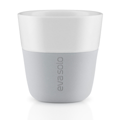 Чашки для эспрессо 2 шт 80 мл Eva Solo серые 501044