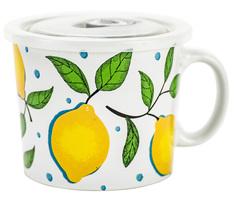 Кружка для супа с крышкой Boston Lemon 22773