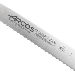 Нож кухонный стальной для томатов 13 см ARCOS Riviera Blanca арт. 232024W