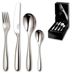 Набор столовых приборов (24 предмета / 6 персон) ROBERT WELCH Stanton Satin арт. STASA1099V/24
